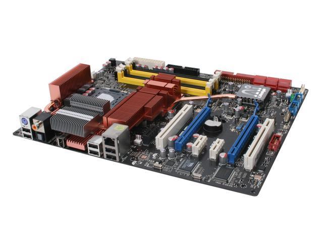 ASUS P5E LGA 775 Intel X38 ATX Intel Motherboard