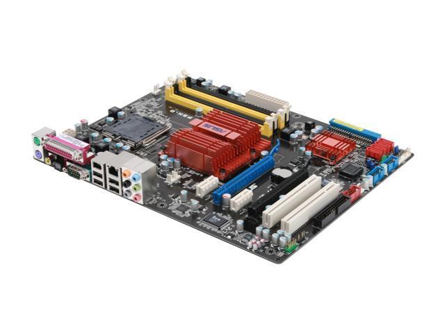 ASUS P5N-D LGA 775 NVIDIA nForce 750i SLI ATX Intel Motherboard
