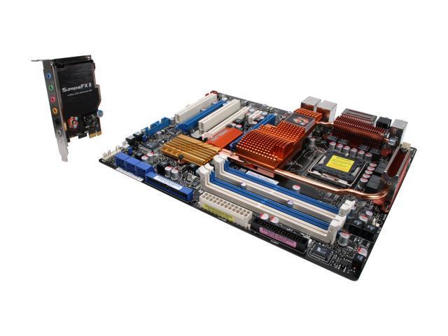 ASUS Striker II Formula LGA 775 NVIDIA nForce 780i SLI ATX Intel Motherboard