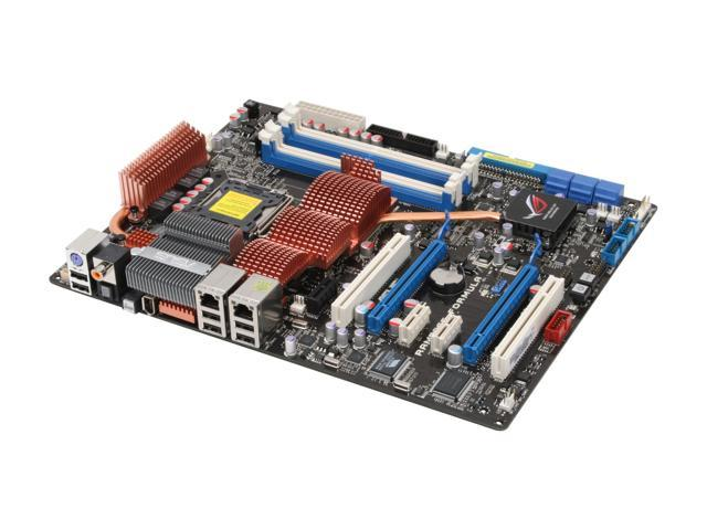 ASUS RAMPAGE FORMULA LGA 775 Intel X48 ATX Intel Motherboard