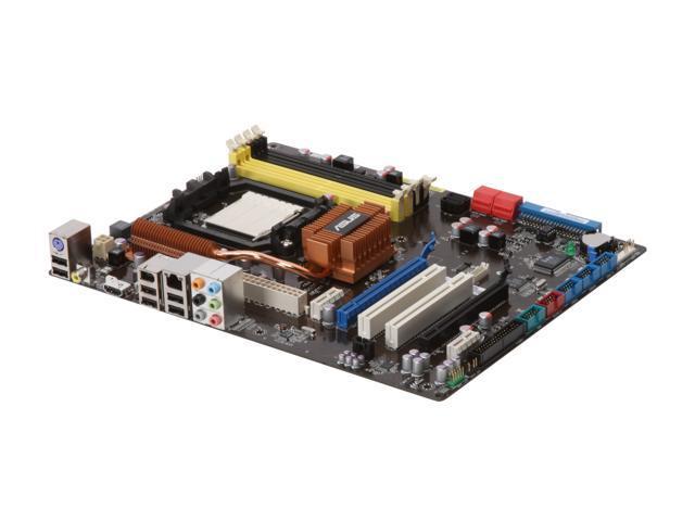 ASUS M3N72-D AM2+/AM2 NVIDIA nForce 750a SLI HDMI ATX AMD Motherboard