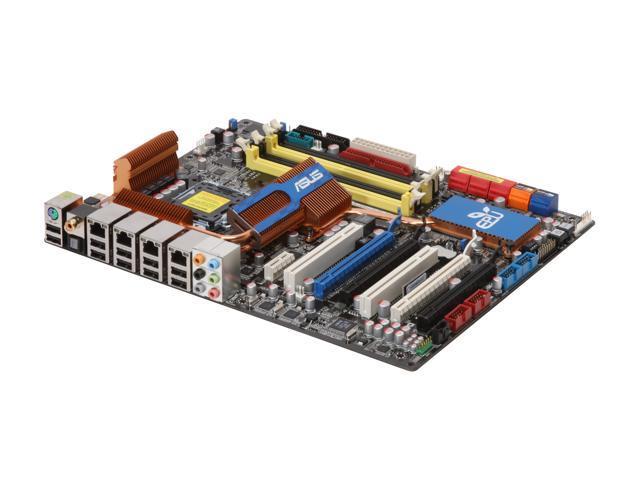 ASUS P5Q Premium LGA 775 Intel P45 ATX Intel Motherboard