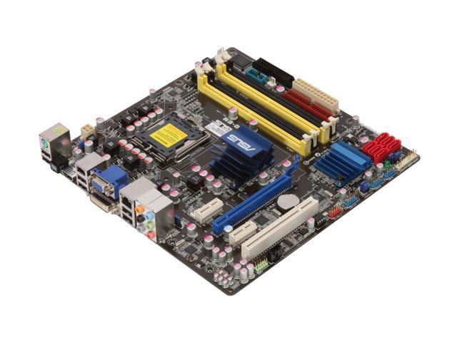 ASUS P5Q-EM LGA 775 Intel G45 HDMI Micro ATX Intel Motherboard