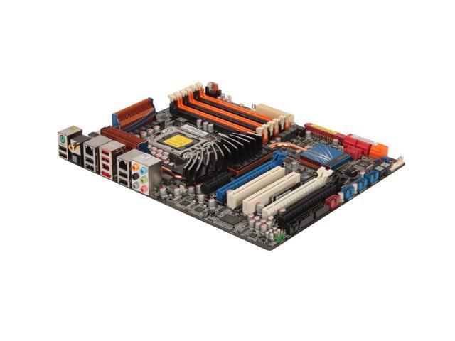 ASUS P6T Deluxe LGA 1366 Intel X58 ATX Intel Motherboard