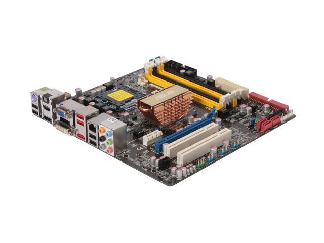 ASUS P5N7A-VM LGA 775 NVIDIA GeForce 9300/nForce 730i HDMI Micro ATX Intel Motherboard