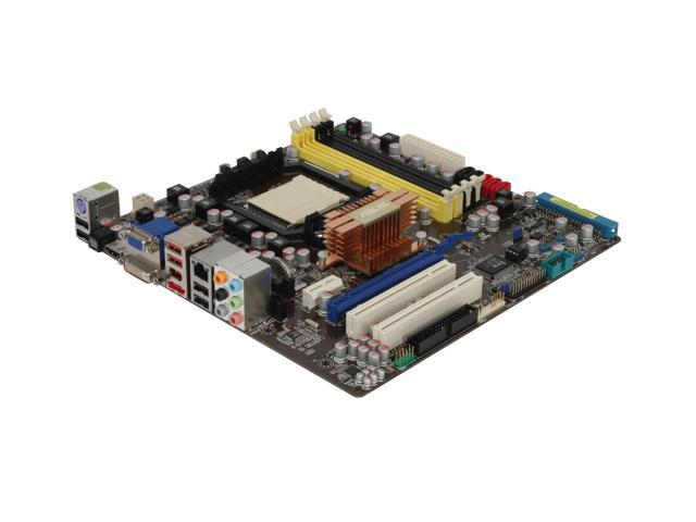 ASUS M3N78-EM AM2+/AM2 NVIDIA GeForce 8300 HDMI Micro ATX AMD Motherboard
