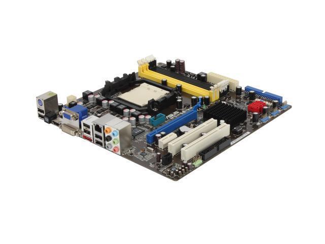 ASUS M2N68-VM AM2+/AM2 NVIDIA GeForce 7050PV HDMI Micro ATX AMD Motherboard
