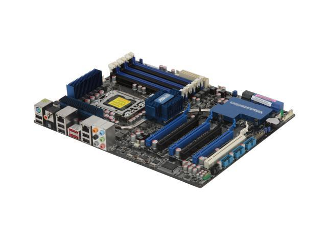 ASUS P6T6 WS Revolution with NF200 3xPCIe true x16 LGA 1366 Intel X58 ATX Intel Motherboard