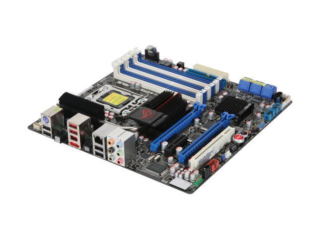 ASUS Rampage II GENE LGA 1366 Intel X58 Micro ATX Intel Motherboard