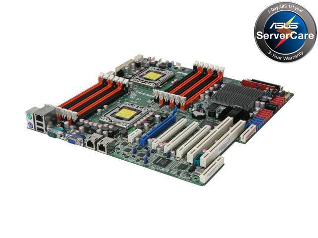 ASUS Z8PE-D12X(ASMB4-IKVM) Dual LGA 1366 Intel 5520 Tylersburg SSI EEB Dual Intel Xeon 5500 and 5600 Series w/ Remote Management, PCI-X Server Motherboard