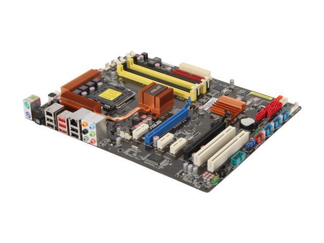 ASUS P5Q Pro Turbo LGA 775 Intel P45 ATX Intel Motherboard