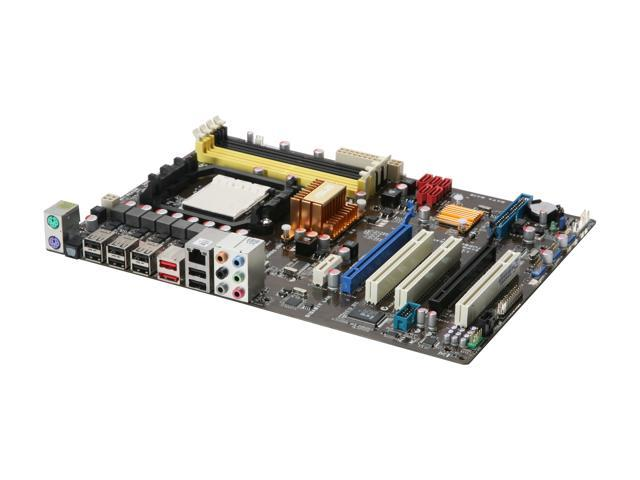 ASUS M4A78 Plus ATX AMD Motherboard