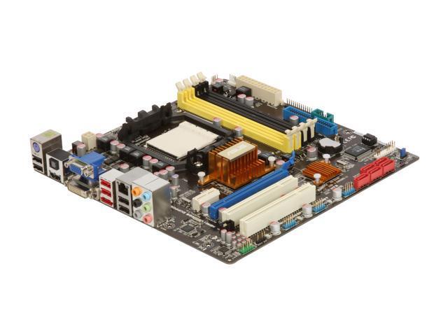 ASUS M4A78-EM AM3/AM2+/AM2 AMD 780G HDMI Micro ATX AMD Motherboard