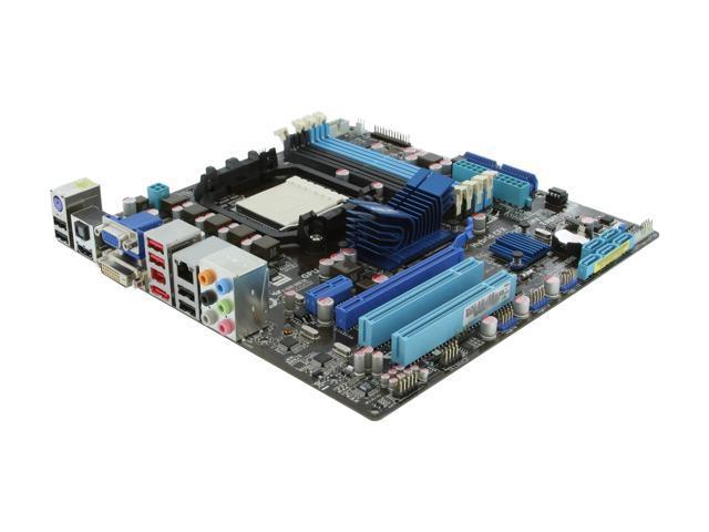 ASUS M4A785TD-M EVO AM3 AMD 785G HDMI Micro ATX AMD Motherboard