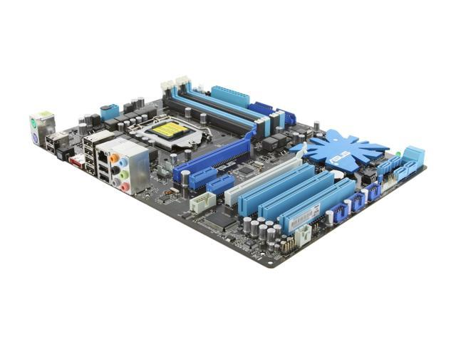 ASUS P7P55D LE LGA 1156 Intel P55 ATX Intel Motherboard