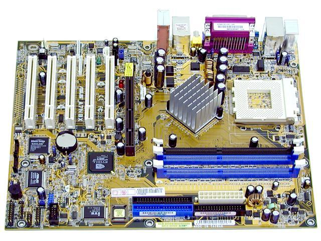 ASUS A7N8X Deluxe 462(A) NVIDIA nForce2 Ultra 400 ATX AMD Motherboard