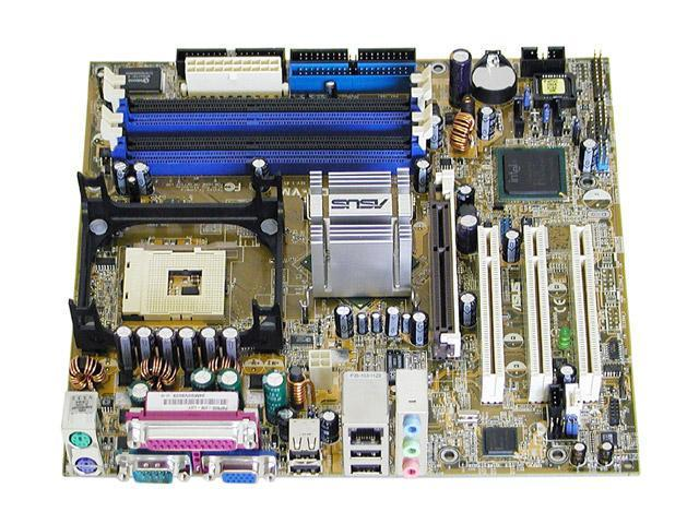 ASUS P4P800-VM Micro ATX Intel Motherboard