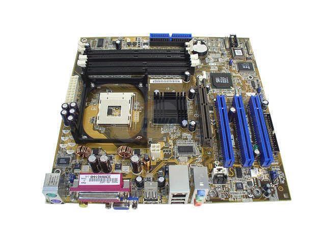 ASUS P4SGX-MX 478 SiS 650GX Micro ATX Intel Motherboard