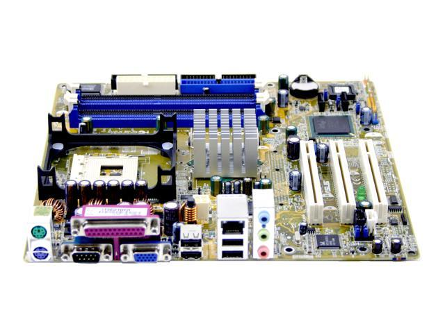 ASUS P4P800-MX 478 Intel 865GV Micro ATX Intel Motherboard