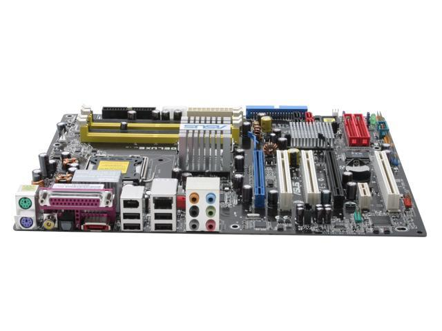 ASUS P5LD2 Deluxe ATX Intel Motherboard