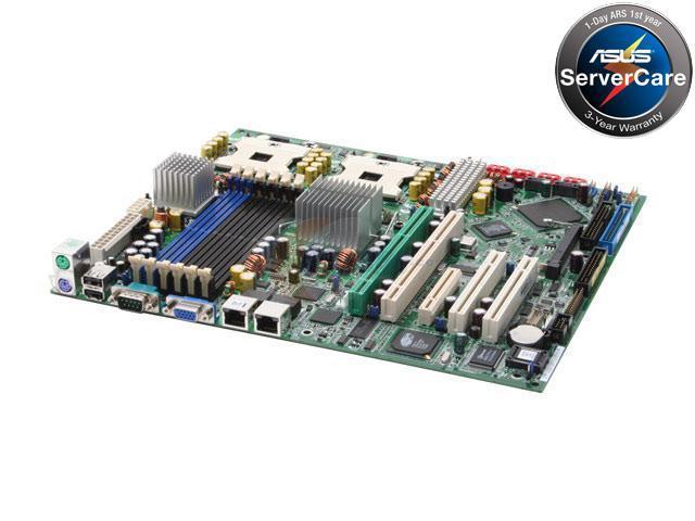 ASUS NCLV-D2/SATA SSI CEB Server Motherboard Dual mPGA604 Intel E7320 DDR2 400