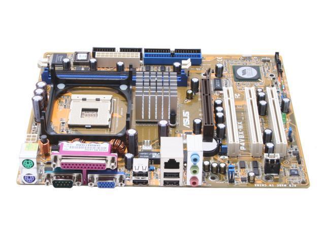 ASUS P4V8X-MX Micro ATX Intel Motherboard