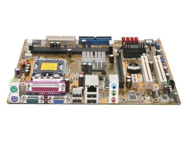 ASUS P5RD2-VM Micro ATX Intel Motherboard
