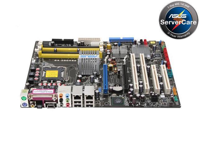ASUS P5WDG2-WS<GREEN> ATX Server Motherboard LGA 775 Intel 975X DDR2 667/533, Native DDR2 800 Support