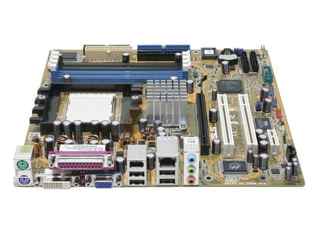 ASUS A8N-VM CSM Micro ATX AMD Motherboard - OEM