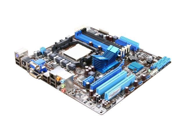 ASUS M4A785-M Micro ATX AMD Motherboard