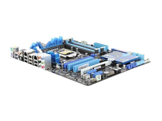 ASUS P7P55D Premium LGA 1156 Intel P55 SATA 6Gb/s ATX Intel Motherboard w/ SATA 6 Gb/s