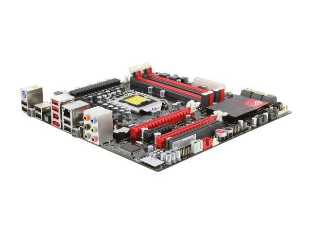 ASUS Maximus III GENE LGA 1156 Intel P55 Micro ATX Intel Motherboard