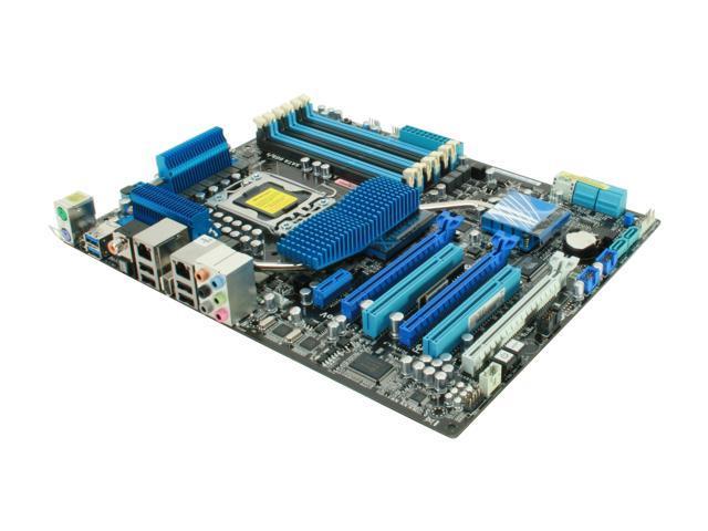 ASUS P6X58D Premium LGA 1366 Intel X58 SATA 6Gb/s USB 3.0 ATX Intel Motherboard