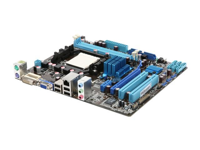 ASUS M4A78LT-M LE Micro ATX AMD Motherboard