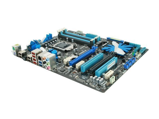 ASUS P7P55D-E LGA 1156 Intel P55 SATA 6Gb/s USB 3.0 ATX Intel Motherboard