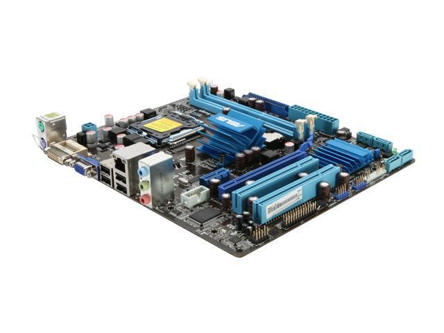 ASUS P5G41T-M LE LGA 775 Intel G41 Micro ATX Intel Motherboard