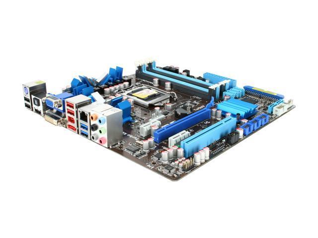 ASUS P7H55D-M EVO LGA 1156 Intel H55 HDMI USB 3.0 Micro ATX Intel Motherboard
