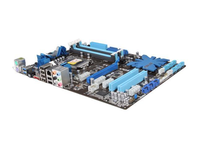 ASUS P7P55D-E LX LGA 1156 Intel P55 SATA 6Gb/s USB 3.0 ATX Intel Motherboard