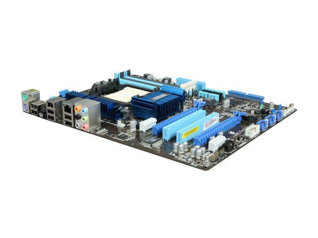 ASUS M4N75TD AM3 NVIDIA nForce 750a SLI ATX AMD Motherboard