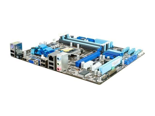 ASUS P7H55-M/CSM LGA 1156 Intel H55 HDMI Micro ATX Intel Motherboard