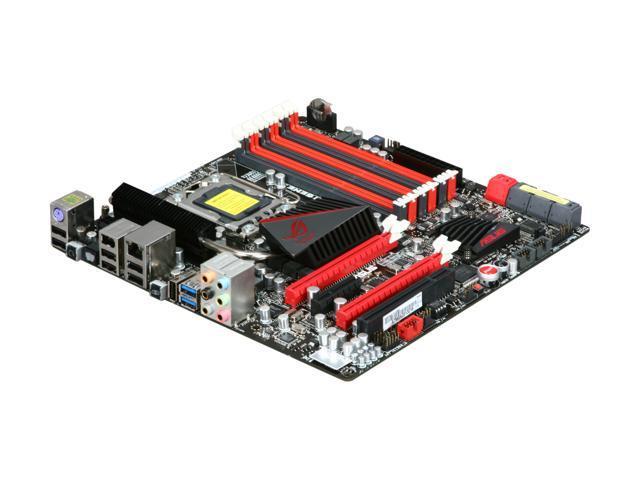 ASUS Rampage III Gene LGA 1366 Intel X58 SATA 6Gb/s USB 3.0 Micro ATX Intel Motherboard