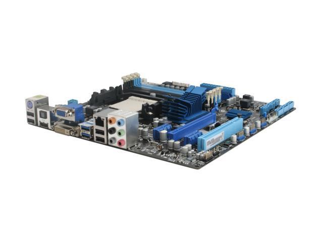 ASUS M4A88T-M/USB3 AM3 AMD 880G USB 3.0 HDMI Micro ATX AMD Motherboard