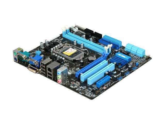 ASUS P7H55-M LE LGA 1156 Intel H55 HDMI Micro ATX Intel Motherboard