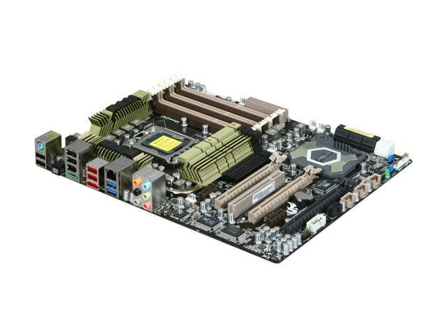 ASUS Sabertooth X58 LGA 1366 Intel X58 SATA 6Gb/s USB 3.0 ATX Intel Motherboard