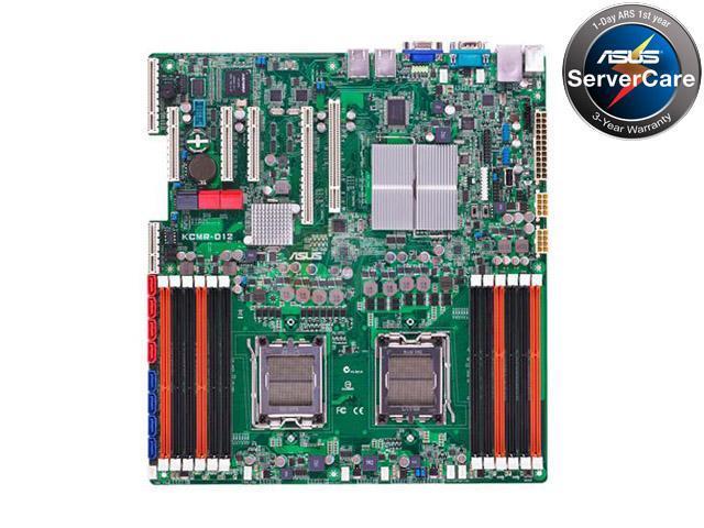 ASUS KCMR-D12(ASMB4-IKVM) Server Motherboard Dual Socket C32 AMD SR5670 DDR3 1333