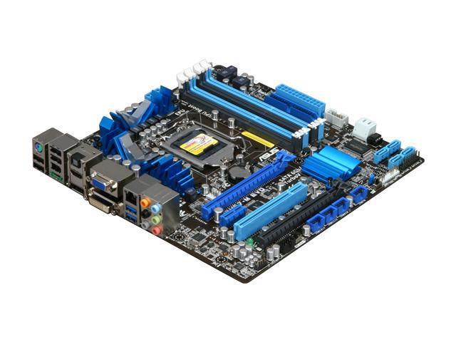 ASUS P8H67-M EVO LGA 1155 Intel H67 HDMI SATA 6Gb/s USB 3.0 Micro ATX Intel Motherboard