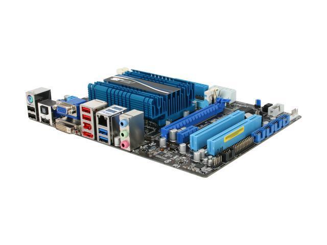 ASUS E35M1-M PRO Fusion AMD E-350 APU (1.6GHz, Dual-Core) AMD Hudson M1 Micro ATX Motherboard/CPU Combo
