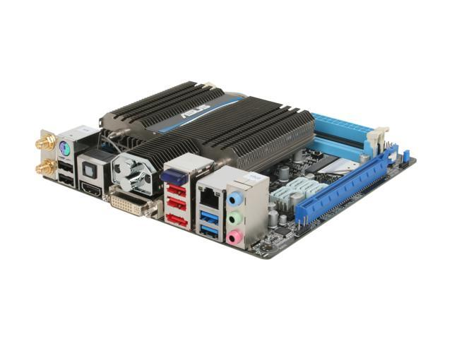 ASUS E35M1-I DELUXE Fusion AMD E-350 APU (1.6GHz, Dual-Core) AMD Hudson M1 Mini ITX Motherboard/CPU Combo
