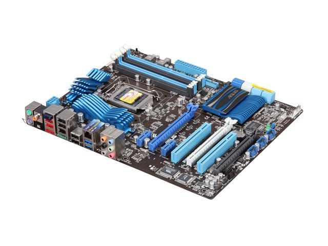 ASUS P8P67 PRO (REV 3.0) ATX Intel Motherboard with UEFI BIOS