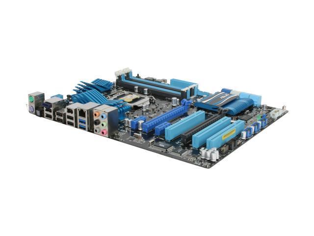 ASUS P8P67 (REV 3.0) LGA 1155 Intel P67 SATA 6Gb/s USB 3.0 ATX Intel Motherboard with UEFI BIOS